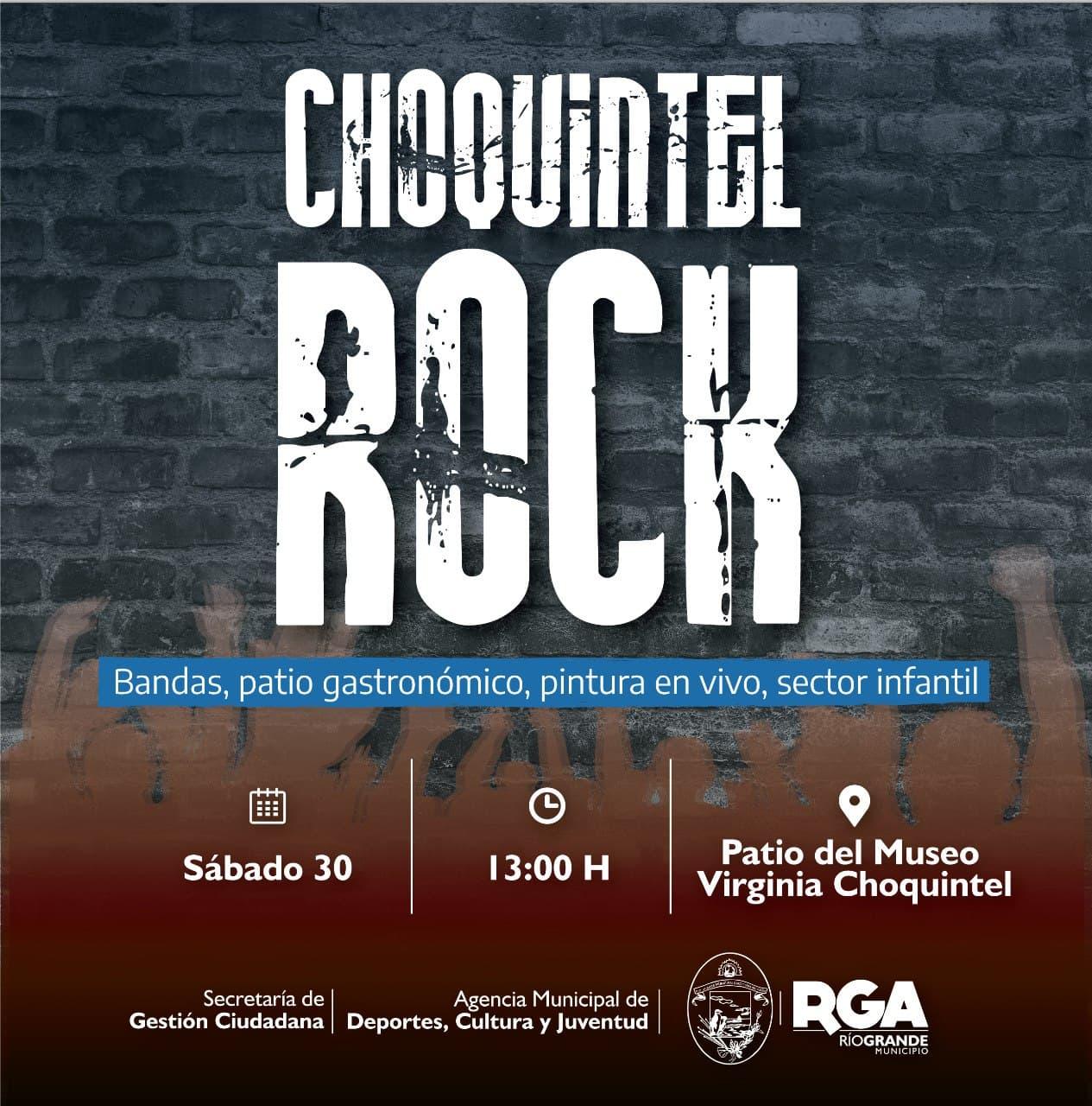 """Se palpita el """"Choquintel Rock"""""""